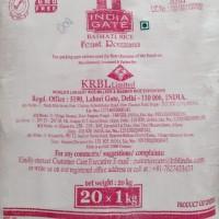 Indiagate Rozzana Basmathi Rice 20Kg