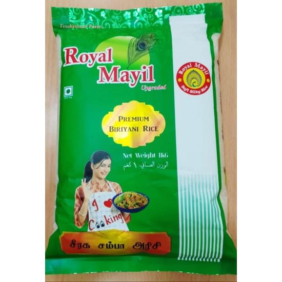 Royal Mayil seeragasamba Rice 1kg