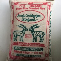 White Maan Seragasamba Rice 25Kg