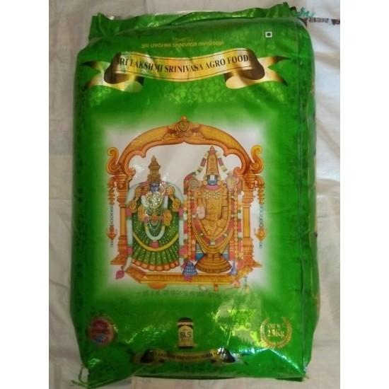 Lakshmi Srinivasa Ponni Rice 25kg green