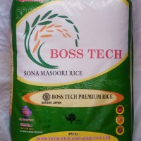 Bosstech Sona Steam Rice 25kg